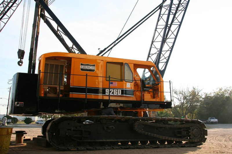 American & Terex Crane Parts | Mitchell Crane